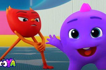 Могучий красный | детская серия | мультипликационное шоу | Booya | смешные видео | анимация