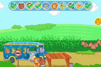 Детский автобус - развивающая игра