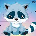 Части тела животных для детей. Учим животных. Видео для малышей. 1 серия.