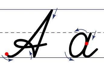 Как пишется буква А. Пишем букву А правильно и красиво. Исправляем почерк.