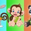 Что едят Животные в Зоопарке - Развивающий Мультик про животных для детей
