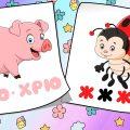 Первые слова малыша. Учимся говорить. Запуск речи у детей. Карточки Домана. Карточки с животными.