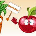 Овощи и Фрукты🍒 для детей. Развивающий мультик для малышей. Большой СБОРНИК. Учим фрукты и овощи.