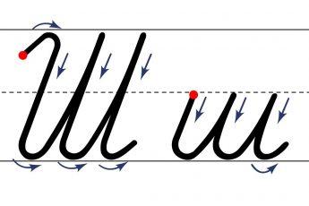 Как пишется буква Ш. Пишем букву Ш правильно и красиво. Исправляем почерк. Пропись.