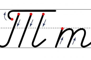 Как пишется буква Т. Пишем букву Т правильно и красиво. Исправляем почерк. Пропись.