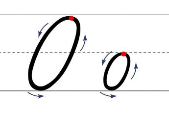 Как пишется буква О. Пишем букву О правильно и красиво. Исправляем почерк. Пропись.
