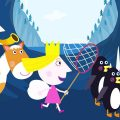 Маленькое королевство Бена и Холли на Pусском | Охота на пингвинов | Мультики