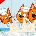 Три Кота   Хлеб   Новая серия 138   Мультфильмы для детей 🍞🍞🍞